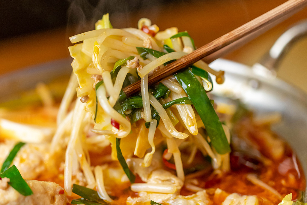 現代人に不足しがちな野菜を、極上のスープでたっぷりとお召し上がりください。